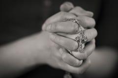 Woman Praying Stock Photography