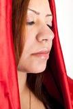 Woman Praying clos-up Stock Photos