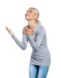 Praying woman Royalty Free Stock Photography