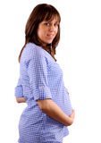 Woman pregnancy Stock Images