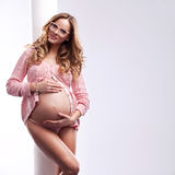 Woman in pregnant Stock Photos