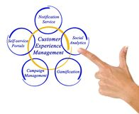 Customer Experience Management Stock Photography