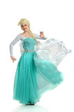 Woman in Princess Outfit Stock Images