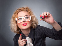 Woman professor Stock Photos