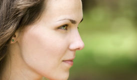 Woman profile Royalty Free Stock Photo