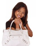 Woman with purse Stock Image