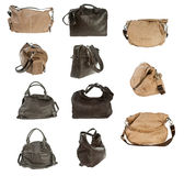 Woman purse collection Royalty Free Stock Images