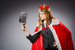 Woman queen businesswoman Royalty Free Stock Photo