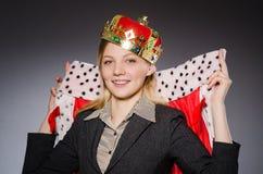 Woman queen businesswoman Stock Photos