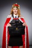 Woman queen businesswoman Royalty Free Stock Photos