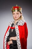 Woman queen businesswoman Royalty Free Stock Image