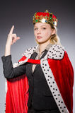 Woman queen businesswoman Stock Photography