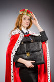 Woman queen businesswoman Stock Photo