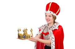 Woman queen Royalty Free Stock Photography
