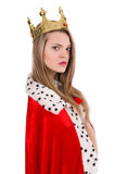 Woman queen Royalty Free Stock Photos
