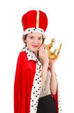 Woman queen Royalty Free Stock Images