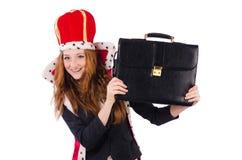 Woman queen Stock Images