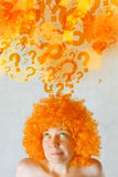 Woman Questioning Stock Images
