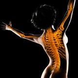 Woman radiography scan Stock Photos