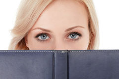 Woman read book Royalty Free Stock Photos