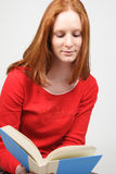 A Woman Reading Stock Images