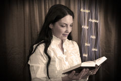 Free Woman Reading A Bible Royalty Free Stock Photography - 13637097