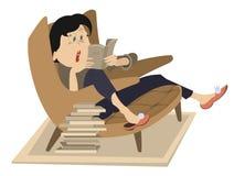 Free Woman Reading A Book Stock Photos - 76089043