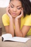 Woman reading. Stock Photo