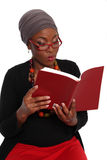 Woman reading. Royalty Free Stock Images
