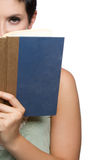 Woman Reading Book Stock Image