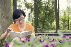 Woman reading Royalty Free Stock Photography