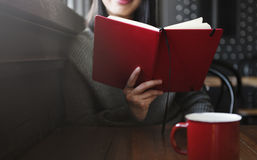 Woman Reading Home Office Start up Concept Royalty Free Stock Images