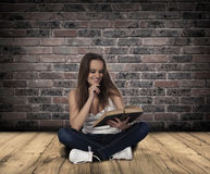 Woman reading. Royalty Free Stock Photo