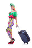 Woman ready for summer holiday Royalty Free Stock Photos