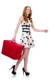 Woman ready for summer holiday Royalty Free Stock Image