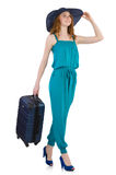 Woman ready for summer holiday Royalty Free Stock Images