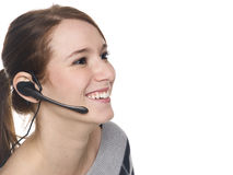 Woman - receptionist Royalty Free Stock Photos
