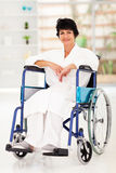 Woman recovering injury Stock Photography