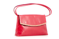 Woman red bag Royalty Free Stock Photography