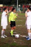 Woman referee Stock Photo