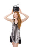 Woman referee Royalty Free Stock Photo
