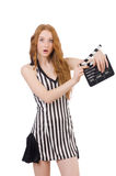 Woman referee Royalty Free Stock Images