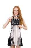 Woman referee Royalty Free Stock Photos