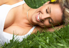 Woman relax Stock Photos