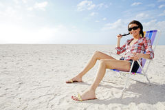 Woman relaxing. Stock Photo