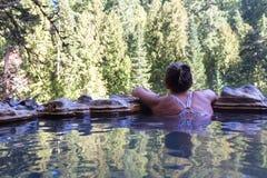 Umpqua hot springs stock images