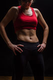 Woman sportive Stock Image
