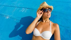 Relaxing summer vacation Stock Images
