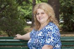 Woman resting Stock Photos