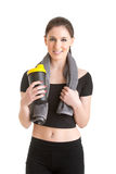 Woman Resting After Workout Royalty Free Stock Image